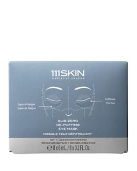 111SKIN - Sub-Zero De-Puffing Eye Masks, Set of 8