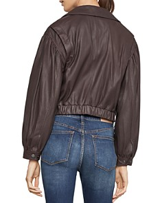 BCBGMAXAZRIA - Melody Leather Biker Jacket