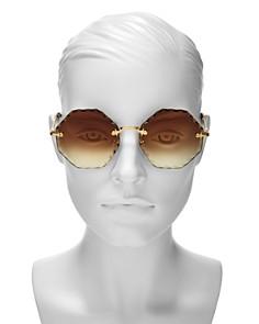 Chloé - Women's Rosie Octagonal Sunglasses, 58mm