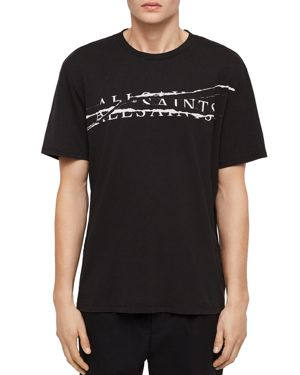 Allsaints Ripped Crewneck Tee