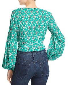 The Fifth Label - Adventurer Floral Wrap Top