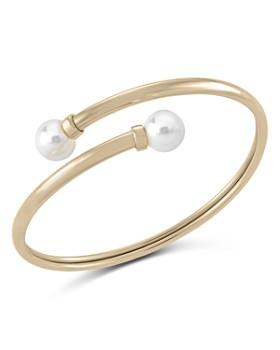 Majorica - Simulated Pearl Bangle Bracelet