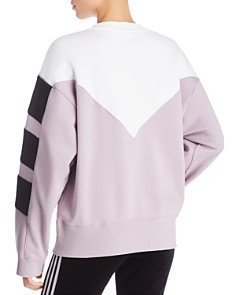 Adidas - Color-Block Triple Stripe Sweatshirt
