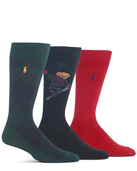 Polo Ralph Lauren - Crew Socks Gift Box - Set of 3