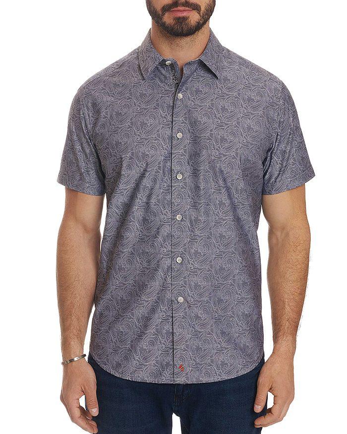 Robert Graham - Mainland Short-Sleeve Paisley-Print Classic Fit Shirt