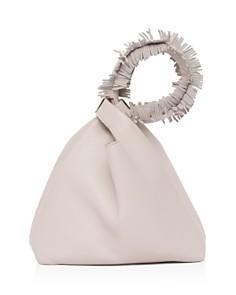 ELENA GHISELLINI - Vanity Small Leather Wristlet Bucket Bag