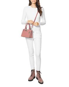 MICHAEL Michael Kors - Tatiana Mini Leather Satchel