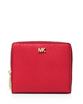 444a807c781a MICHAEL Michael Kors - Money Pieces Leather Zip Around Wallet ...