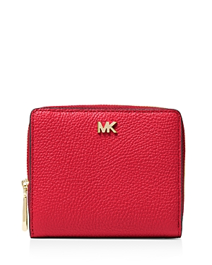 Michael Michael Kors Money Pieces Leather Zip Around Wallet