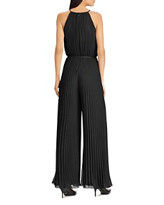 Ralph Lauren - Pleated Wide-Leg Jumpsuit