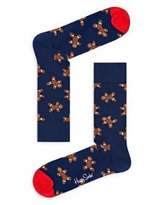 Happy Socks - Gingerbread Men Socks