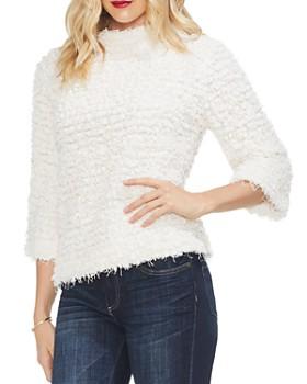 VINCE CAMUTO - Popcorn-Knit Sweater