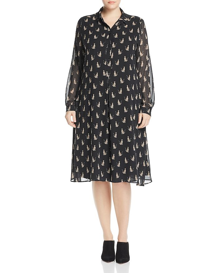 Marina Rinaldi - Danae Leopard-Printed Dress