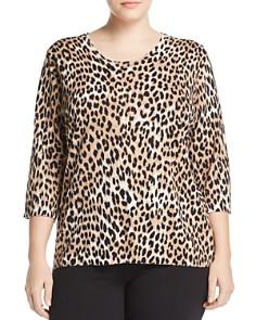 Marina Rinaldi - Acropoli Leopard-Print Sweater