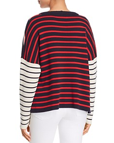 Weekend Max Mara - Mario Striped Color-Block Sweater