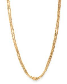 "Bloomingdale's - 14K Yellow & White Gold Mesh Chain Choker Necklace, 17"" - 100% Exclusive"