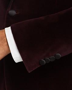 John Varvatos Star USA - Bleeker Velvet Slim Fit Dinner Jacket with Satin Lapel