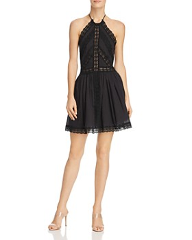 Charo Ruiz Ibiza - Kim Crochet Lace Paneled Dress