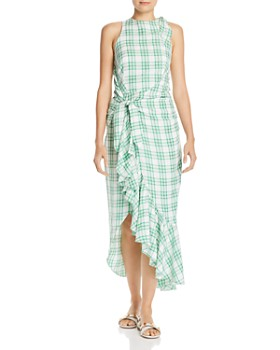 Paper London - Montego Plaid Dress