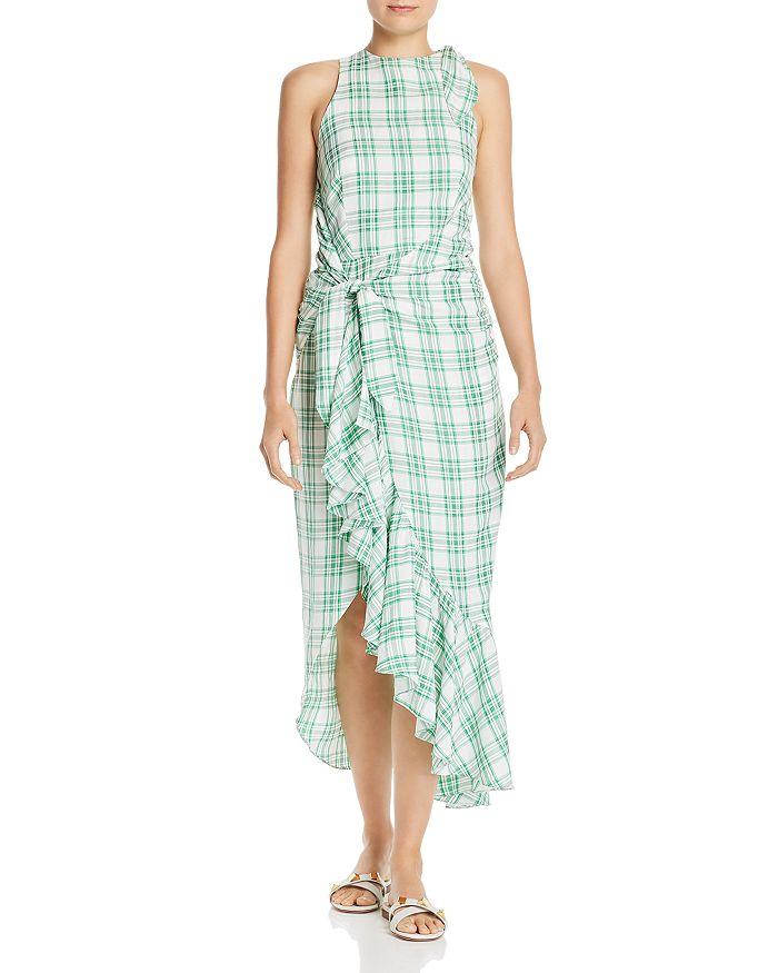 Paper London - Montego Plaid Dress