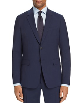 Theory - Tonal Tic-Stripe Slim Fit Suit Jacket