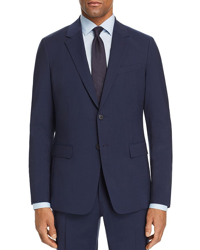 Theory - Chambers Tonal Tic-Stripe Slim Fit Suit Jacket