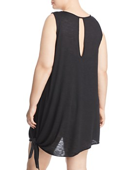 Becca Etc. Plus - Plus Breezy Basic Dress Swim Cover-Up