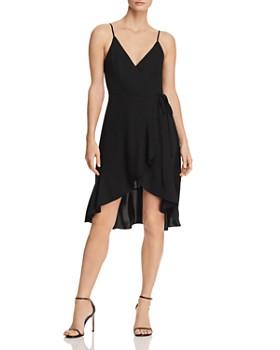 6fb1cb04b9 Amanda Uprichard - Rose Ruffled Wrap Dress ...