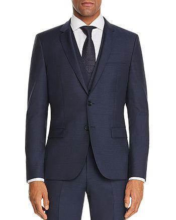 HUGO - Arti Micro-Pattern Slim Fit Suit Jacket
