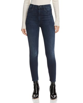 Swooner High Rise Ankle Skinny Jeans In Squeeze Play by Mother