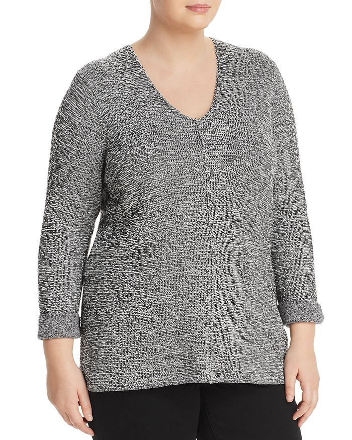 NIC and ZOE Plus - Marled Sweater