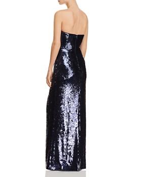 Aidan Mattox - Strapless Embellished Sequin Gown