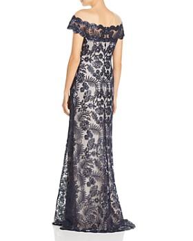 Tadashi Shoji - Embellished Illusion Gown