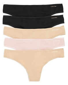 Calvin Klein - Thongs, Set of 5