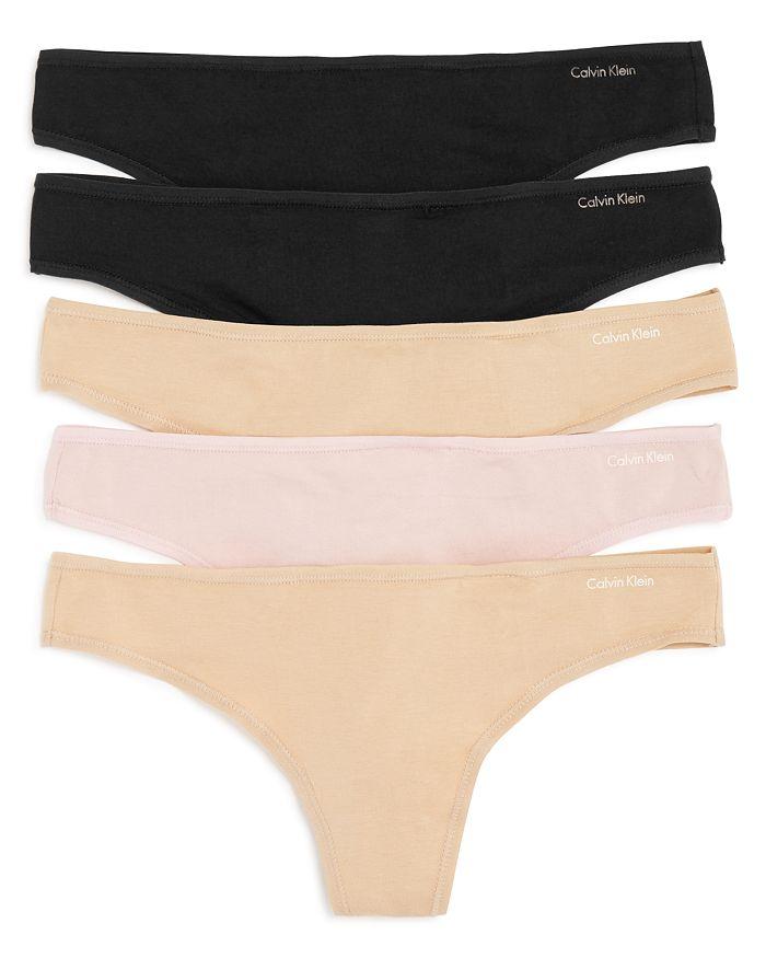 Calvin Klein - Thongs, Set of 5