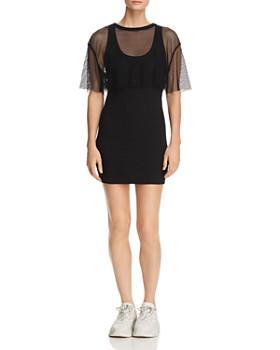 001acb2571 Kendall + Kylie - Two-Piece Tank Dress ...