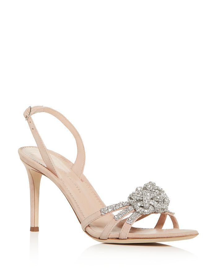 Giuseppe Zanotti - Women's Embellished Slingback High-Heel Sandals