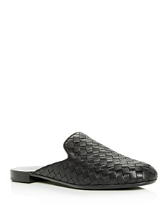 Bottega Veneta - Women's Woven Leather Mules
