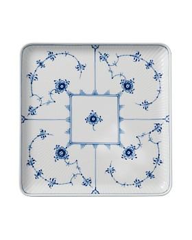 Royal Copenhagen - Blue Fluted Plain Large Square Plate
