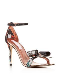 6c8633b1447d50 Ted Baker Women's Dahrlin Embellished Satin Pointed Toe Pumps ...