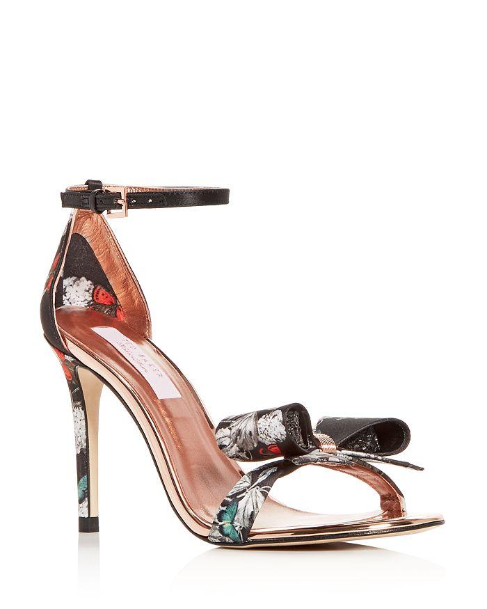 75129e26af9 Ted Baker Women s Bowdalp Black Narnia High-Heel Sandals ...
