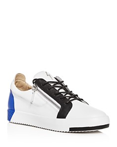 Giuseppe Zanotti - Men's Color-Block Leather Low-Top Sneakers