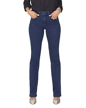 Nydj PETITES MARILYN STRAIGHT JEANS IN FIRESKY