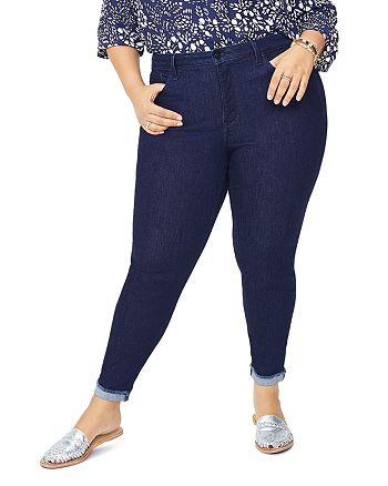 NYDJ Plus - Ami Ankle Skinny Jeans in Rinse