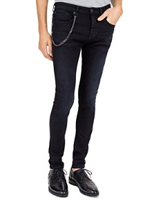 The Kooples - Slim Jeans in Black
