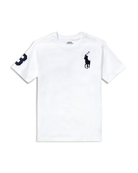 Ralph Lauren - Boys  Cotton Jersey Crewneck Tee - Big Kid ... 842357a3239d