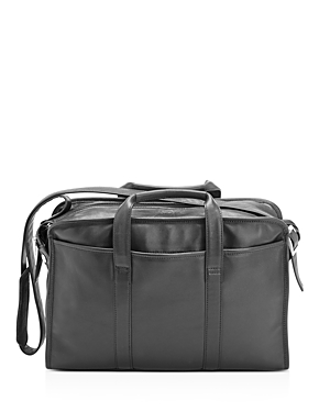 Royce New York Slim 13 Leather Laptop Briefcase