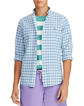 Polo Ralph Lauren - Plaid Classic Fit Button-Down Shirt