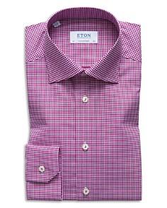 Eton - Gingham Regular Fit Dress Shirt