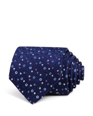 The Men's Store at Bloomingdale's Ditsy-Floral Silk Classic Tie - 100% Exclusive